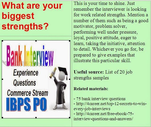 related materials 75 bank interview questions ebook interviewquestionsebookscomdownload - Attention To Detail Interview Questions And Answers