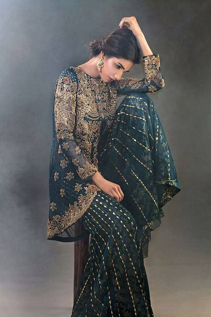 Sana Farooqui Pakistani couture   Pakistani engagement ...