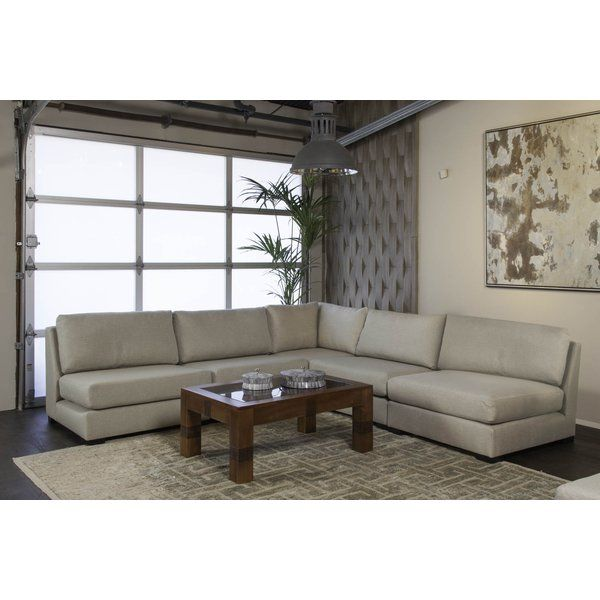Glaude Plush Deep Modular Sectional Sectional Sofa