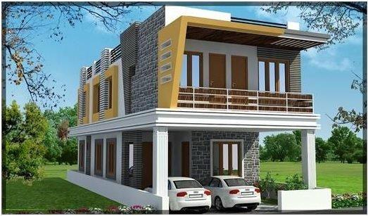 2 Bedroom Duplex Home Designs