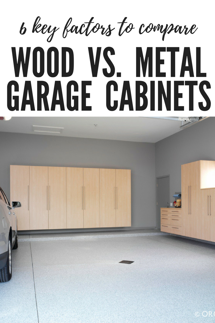 Elegant Metal Garage Wall Cabinets
