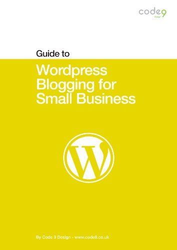 Free ebook 2 17 2013 wordpress blogging for small business code 9 free ebook 2 17 2013 wordpress blogging for small business code 9 fandeluxe Choice Image