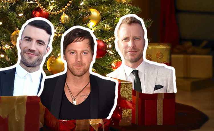 We would be okay with any of these Country music stars under the mistletoe