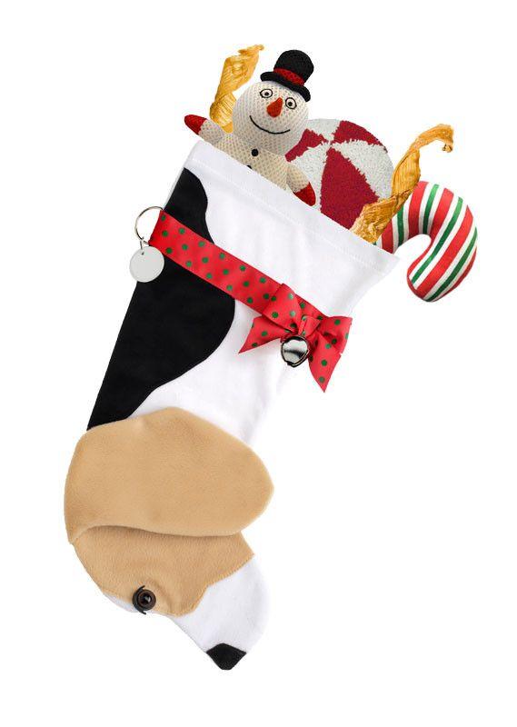Beagle Christmas Stocking
