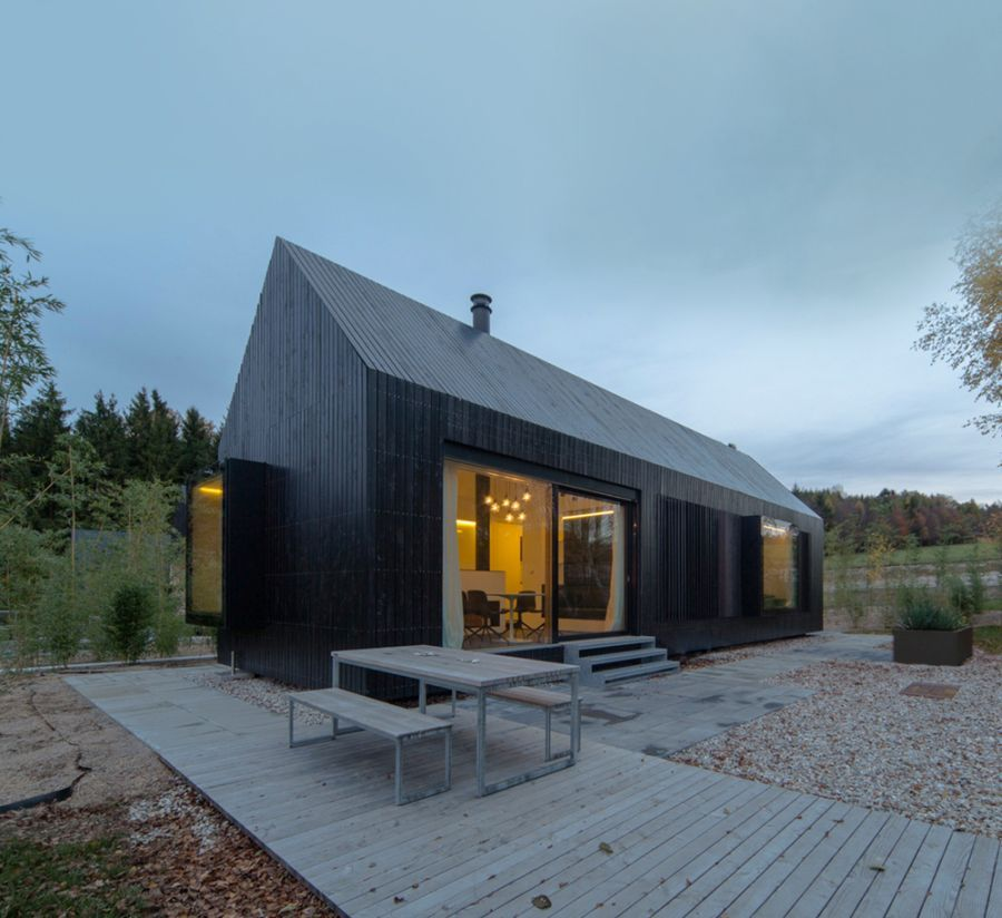 The Perfect Getaway Place German Forest Home Design By Format Elf