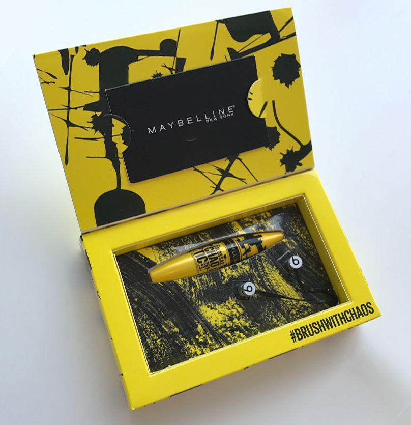 Maybelline New York Chaotic! Mascara Buyers Box on Behance