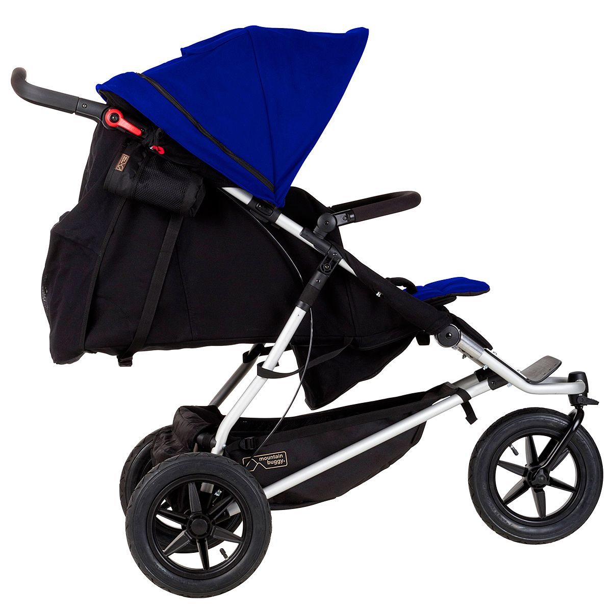 Hartan Baby One Mountain Buggy One Double Inline Stroller With Easy Kerb