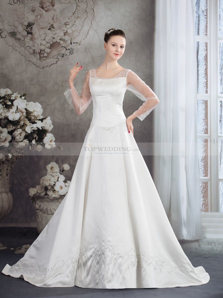 20+ Three Quarter Sleeve Wedding Dress - Women\'s Dresses for ...