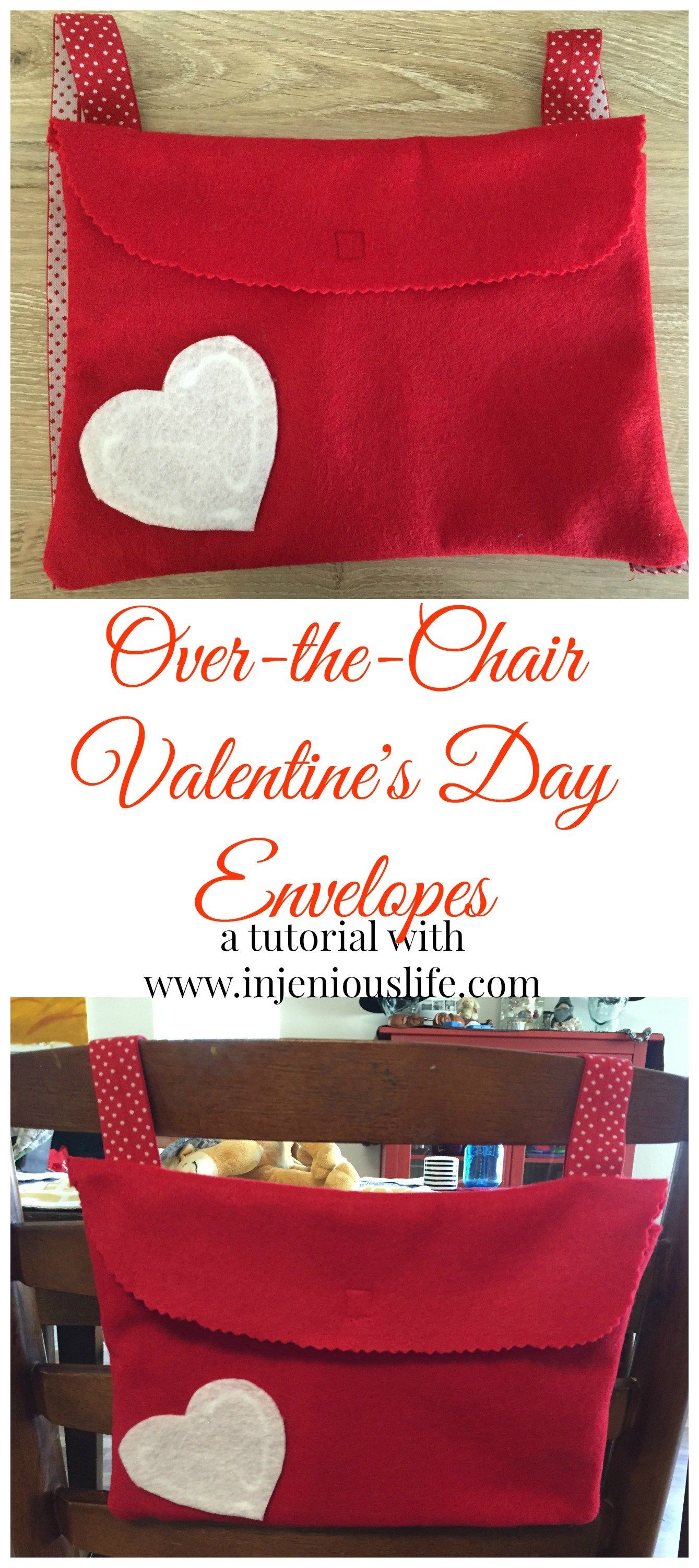 Over The Chair Valentine S Day Envelopes Holiday Decoration And