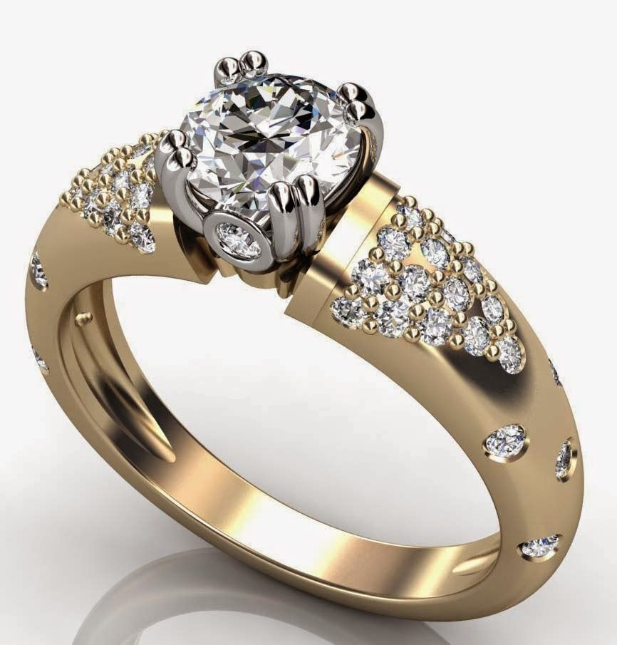 women diamond thick gold wedding rings design categories wedding ...