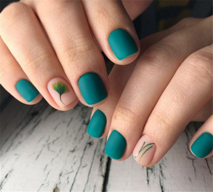 60+ Stylish Short Nail Design Ideas 2020 | Nails design ...