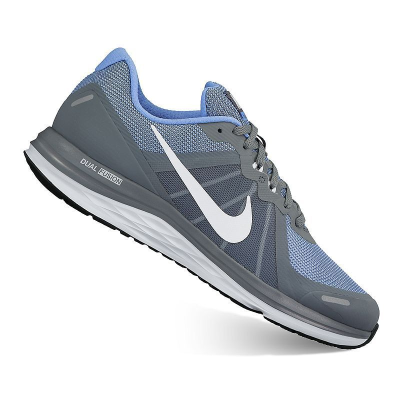 wholesale dealer 14670 ef472 Nike Dual Fusion X 2 Women s Running Shoes, Size  9.5 Wide, Grey Other