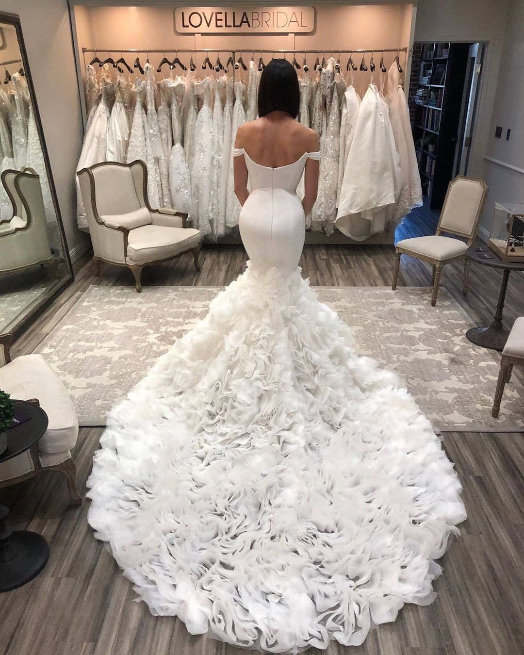 Wedding Dresses Gallery On Instagram We Totally Can T Resist These Open Back Dresses Which One Would You Wear 1 2 3