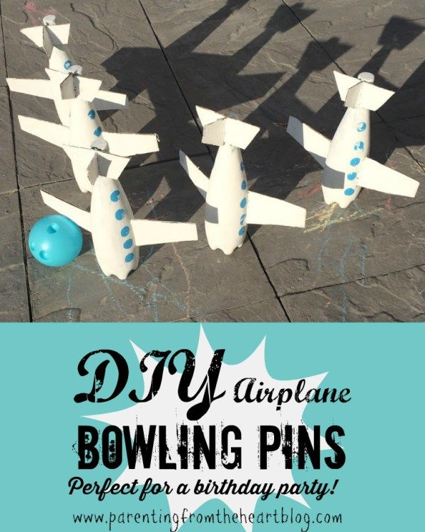 DIY Airplane Bowling Pins Indoor The winter and Summer time