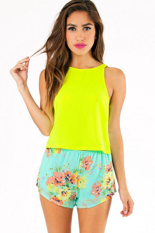 ccf6caf14f7 Danielle Crop Top ~ TOBI   Stylin'   Fashion, Crop tops, Gym shorts ...