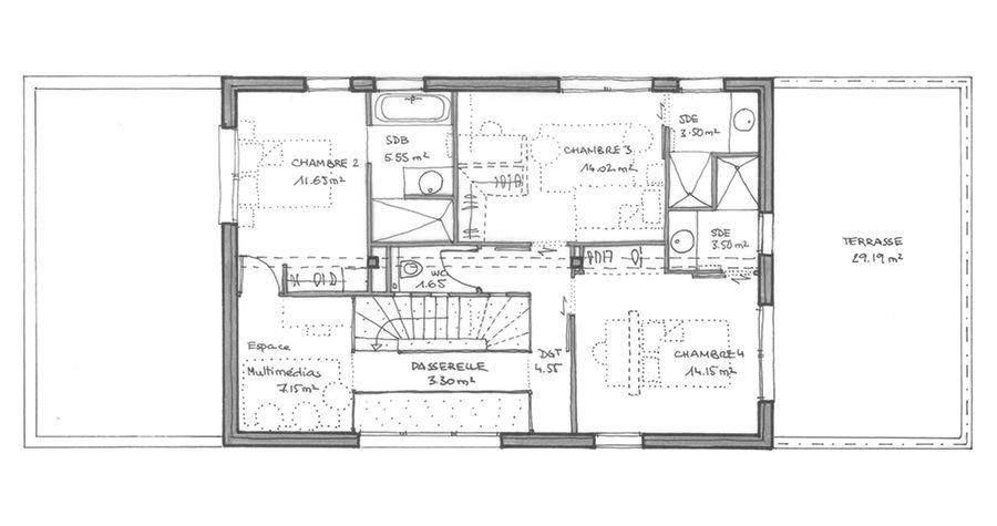 Plan maison tous nos plans maisons igc igc for Plan maison igc