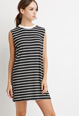 Multi-Stripe Dress | Forever 21 - 2000155829