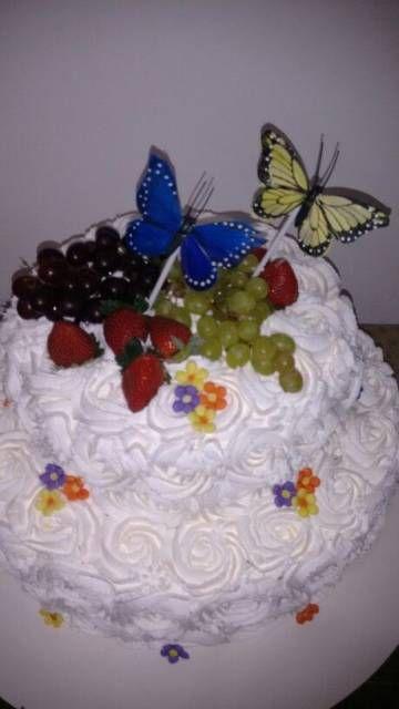 Festa jardim das borboletas 30 inspiraes bolos de chantilly bolo de chantilly altavistaventures Image collections