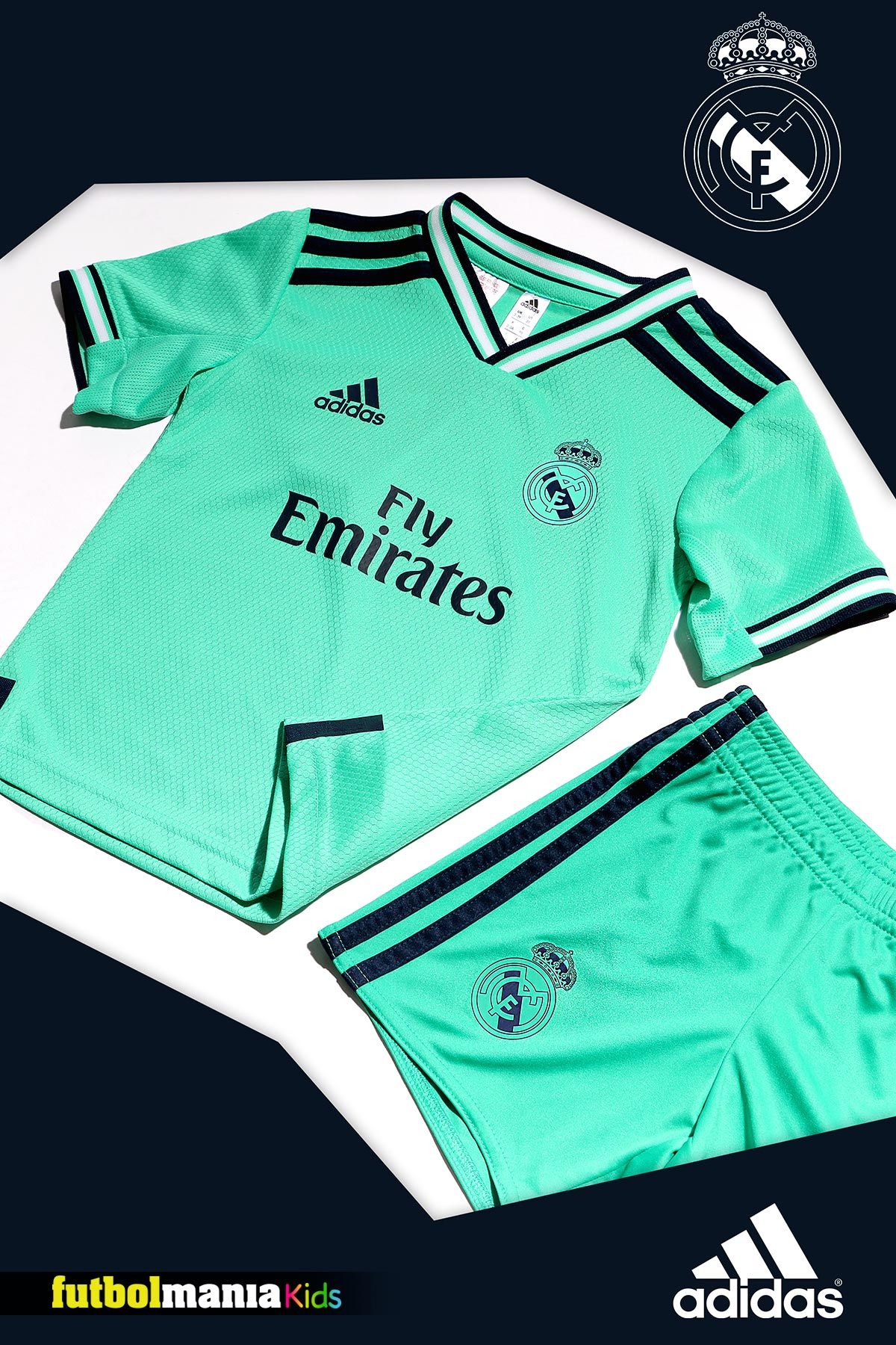 Tercera equipación del Real Madrid para la temporada 2019