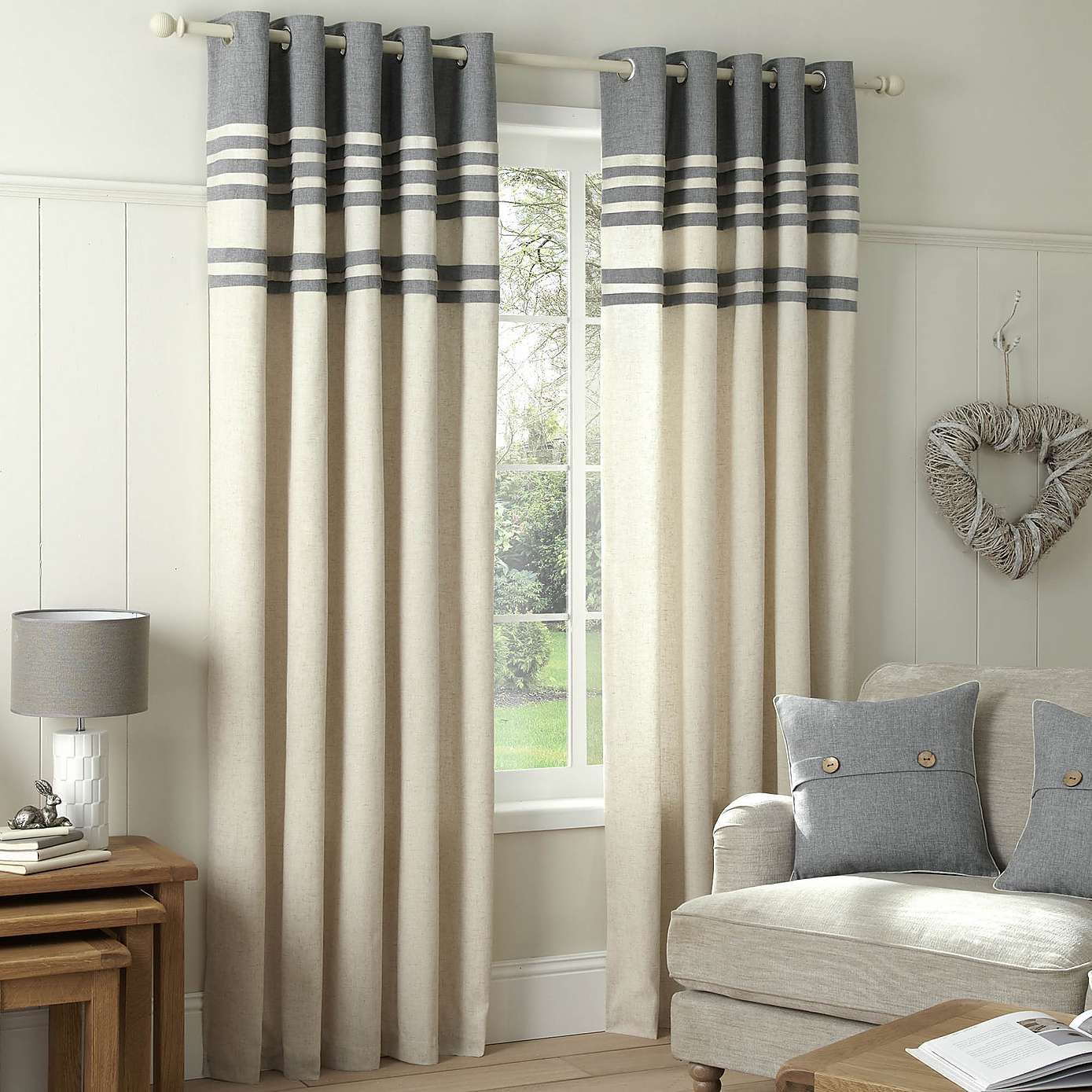 Dunelm Mill Ready Made Eyelet Curtains Nakedsnakepress Com
