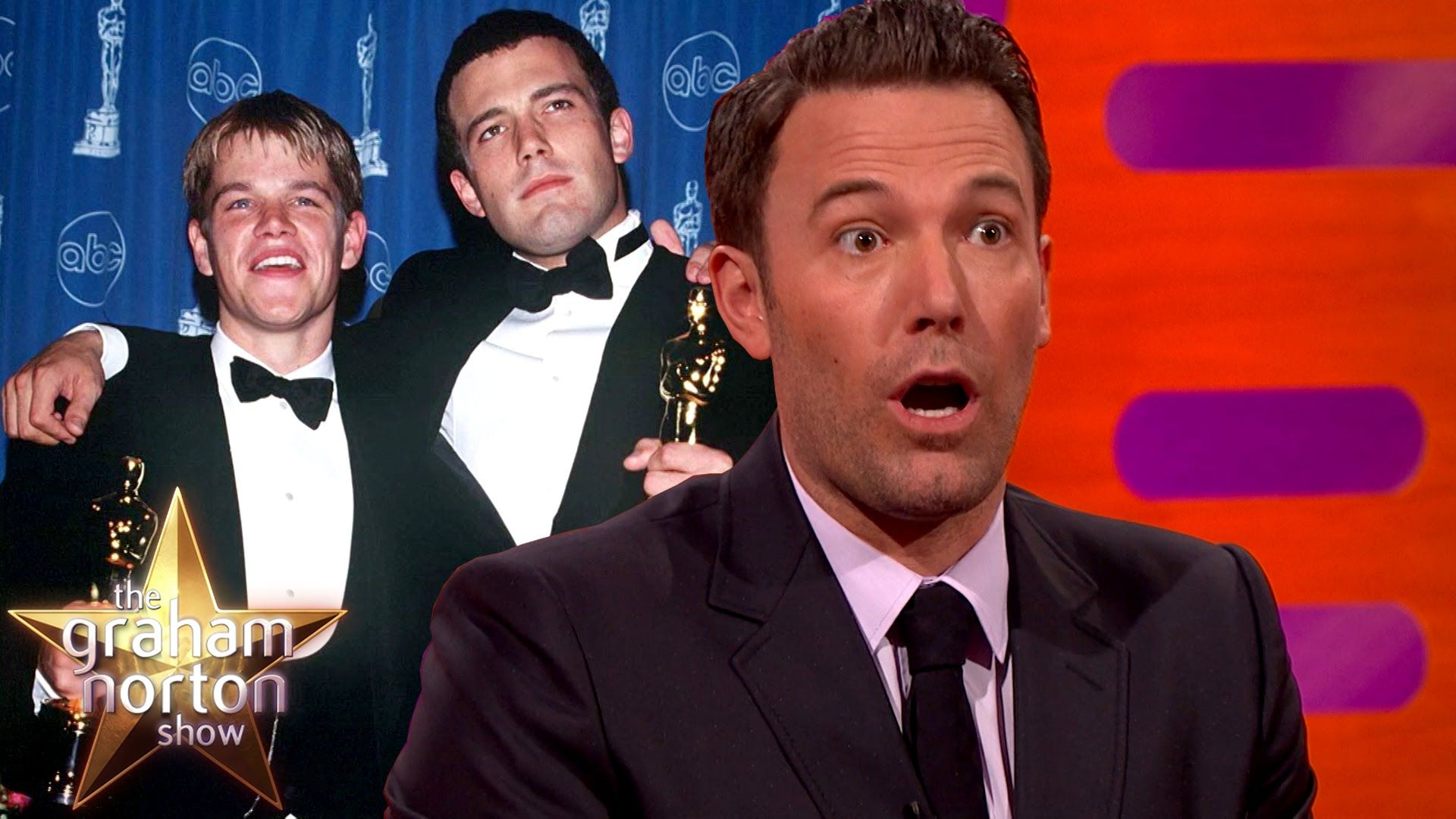 Cool Ben Affleck On Matt Damon And Winning His First Oscar The Graham Norton Show Matt Damon Ben Affleck Norton Show
