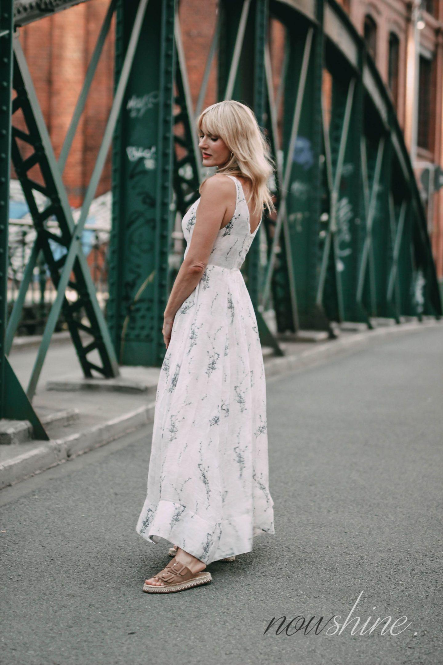 ü40 blogger conscious exclusive 2018 kleid von h&m-maxikleid
