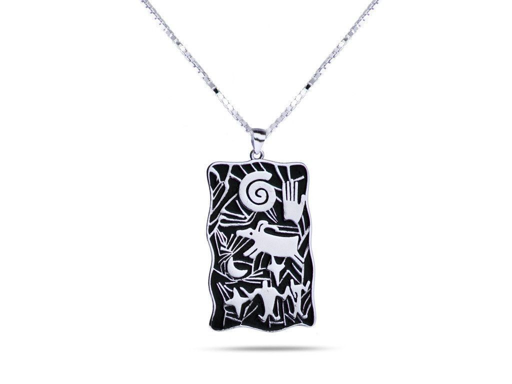 Hand symbol of achievement and legacy necklace white gold hand symbol of achievement and legacy necklace white gold buycottarizona Gallery