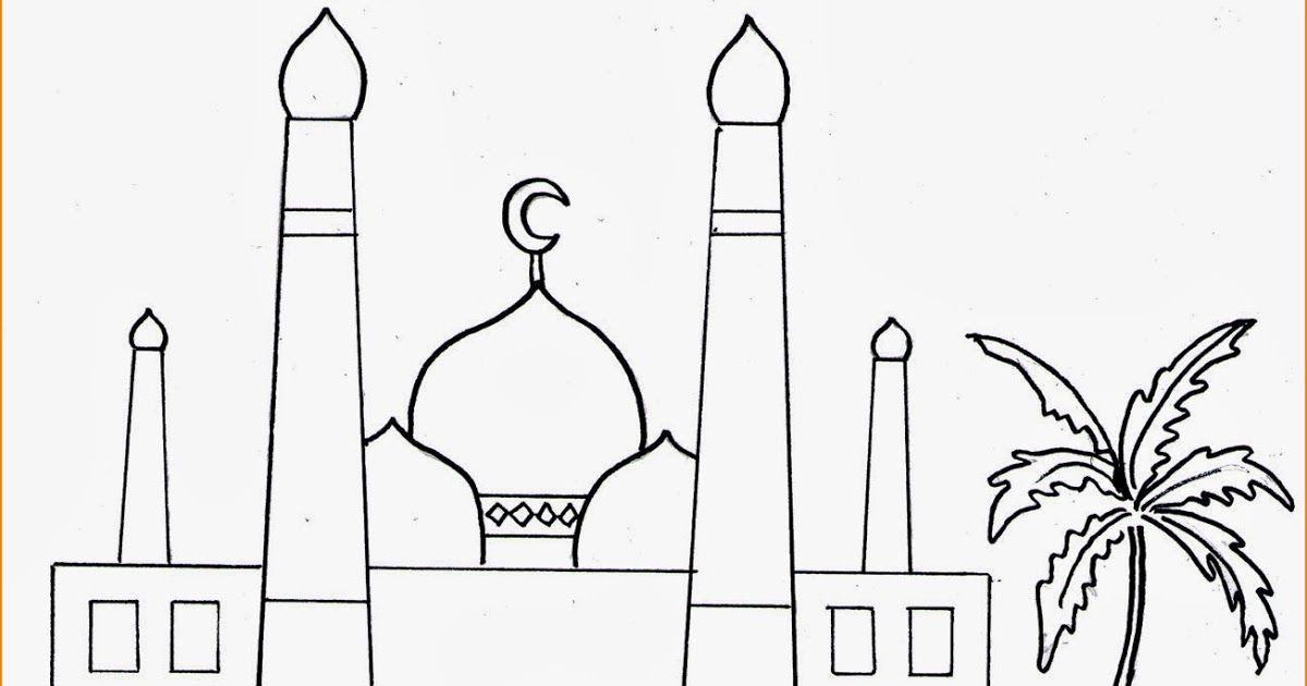27 Gambar Kartun Islami Untuk Diwarnai 29 Gambar Mewarnai Masjid Nabawi Terlengkap 2020 Download Mewarnai 4 Sehat 5 Sempurna Warna Gam Di 2020 Kartun Warna Gambar