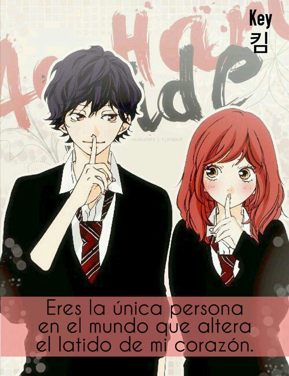 Eres La Unica Persona.... Frases Anime #Key킴
