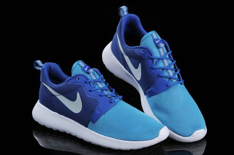 online store 5c968 5bb47 Authentique 636220 401 Nike Roshe Run Hyperfuse 3M Gamma Royal University  Blue Deep Royal Blue White