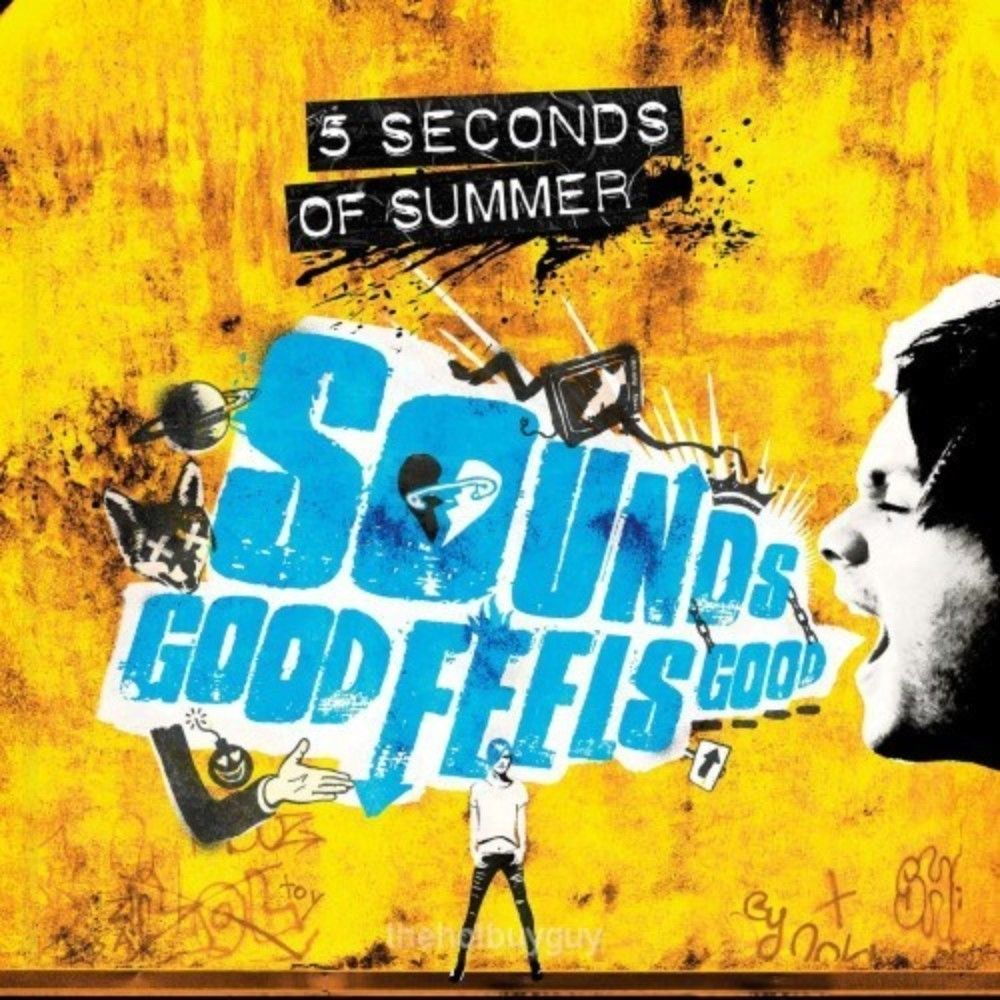 5 Seconds Of Summer Sounds Good Feels Good Target Exclusive Yellow