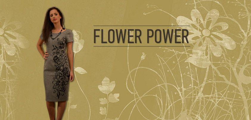 a81070fe7735 Flower Power!! Βάλτε στη ντουλάπα σας ρούχα με σχέδια που δίνουν ...