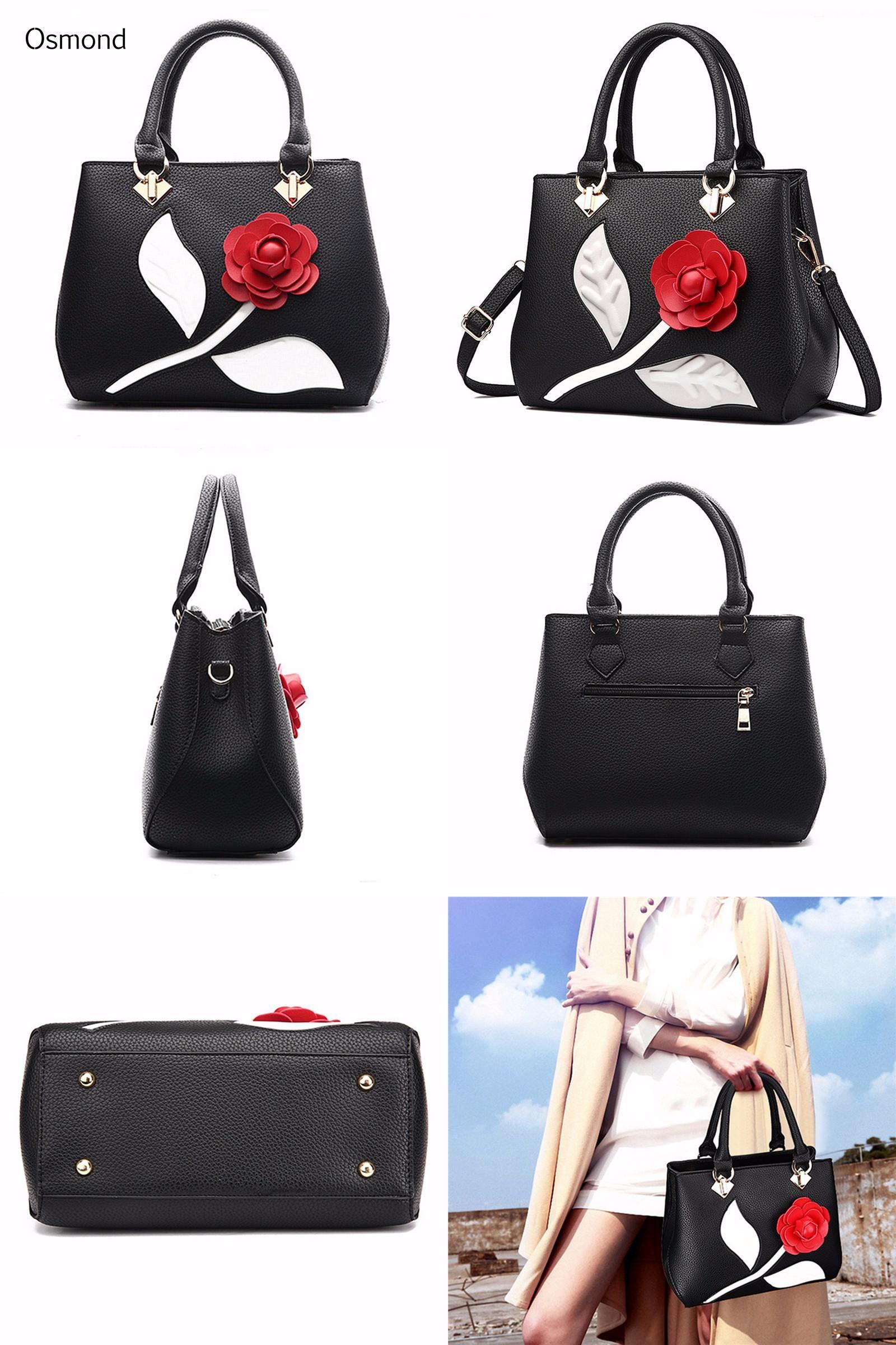 b776aa9dca72  Visit to Buy  Osmond National Vintage Embroidery Shoulder Bag Women 3D  Floral Handbags Ladies
