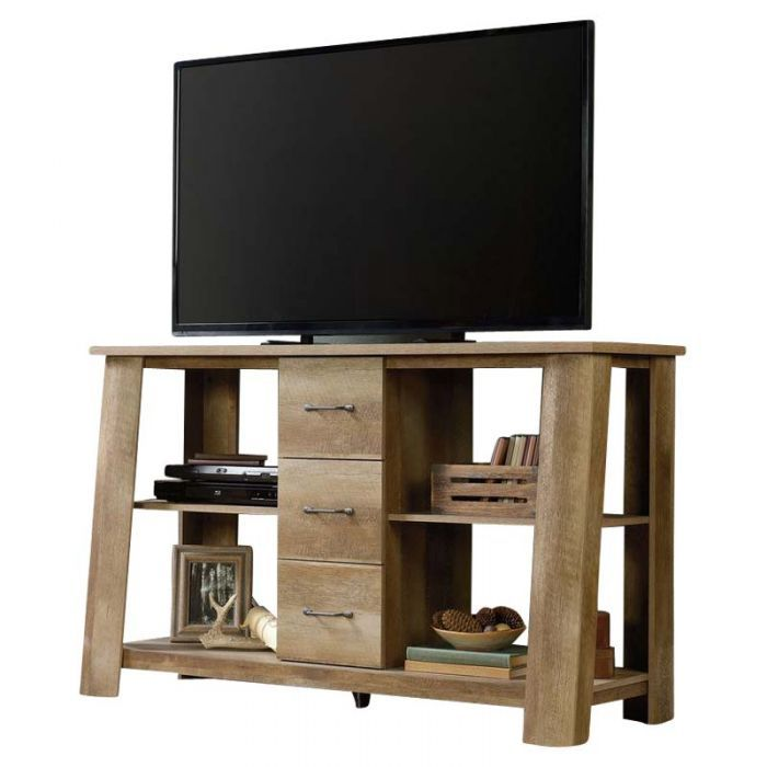 Sauder Boone Mountain Rustic Storage 60 Tv Stand Tv Stands 60