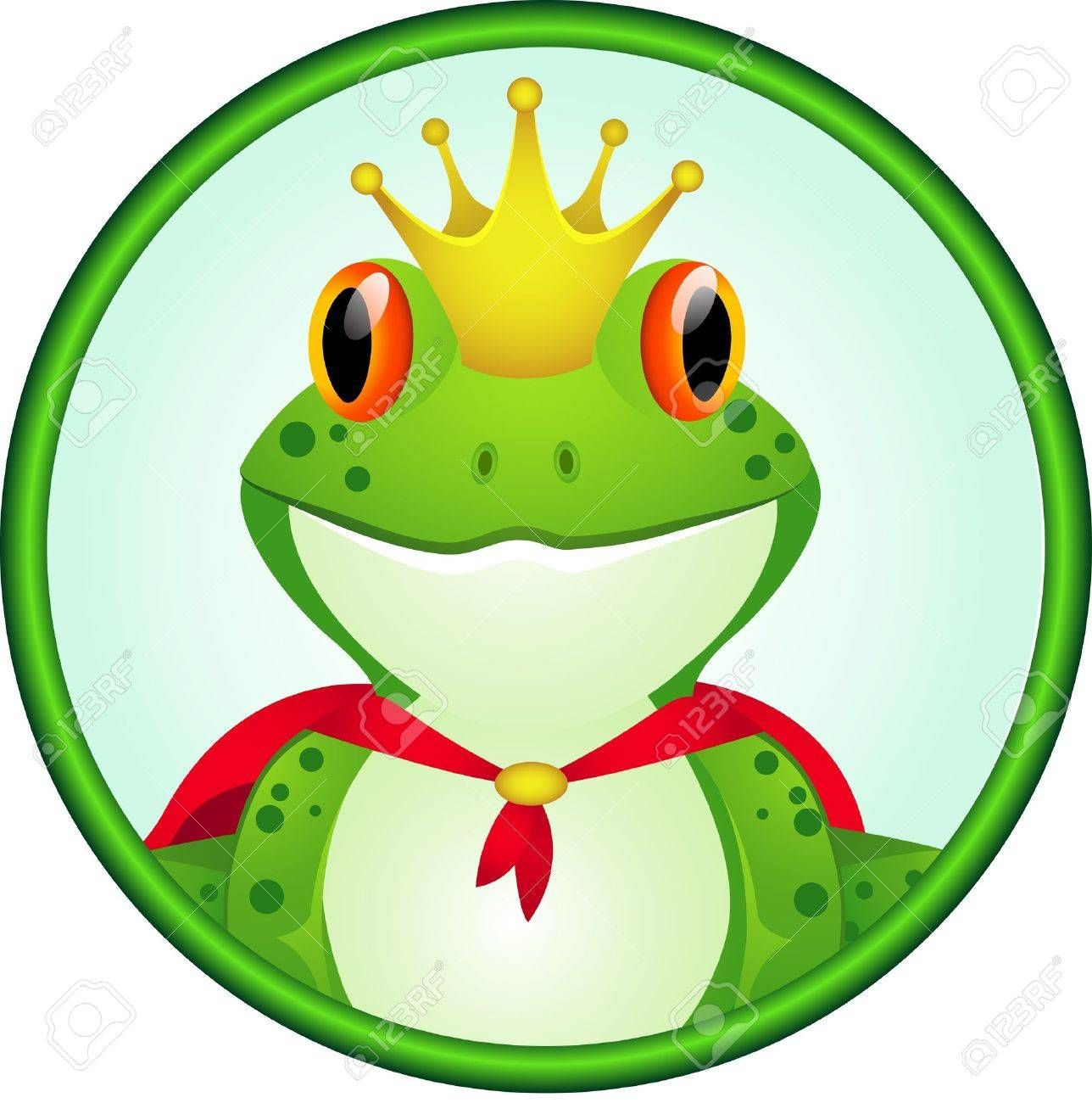 Stock Photo Frogs Cute Frogs Cartoon Illustration