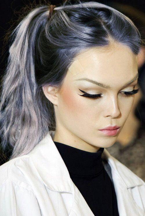 #lavenderhair #colorfulhair # Kelly Osborne