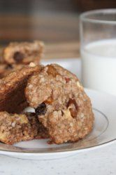 Rum Soaked Tropical Fruit Oatmeal Cookies and hanging out at Little Beach in Maui