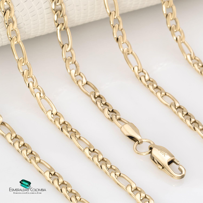 Cadena Tejido Cartier En Oro Laminado De 18k Cadenas De Oro Mujer Joyeria Cadenas
