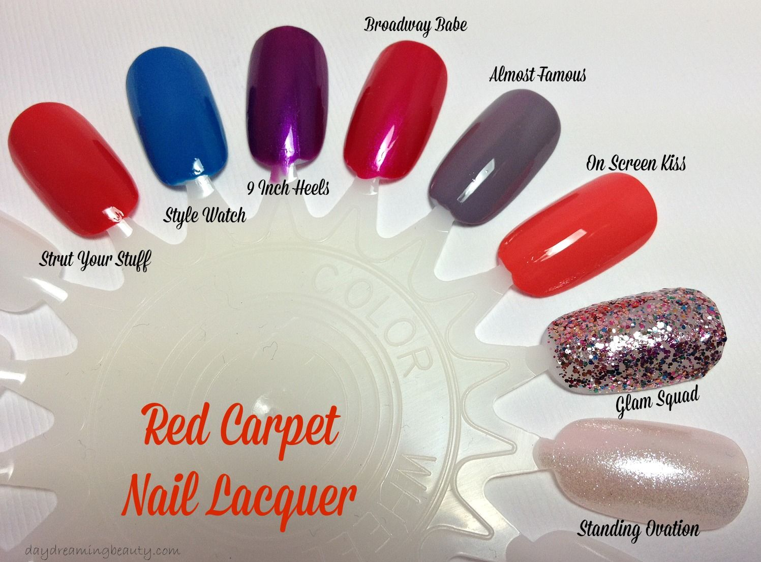 Red Carpet Manicure Almost Famous Nail Lacquer - daydreaming beauty ...