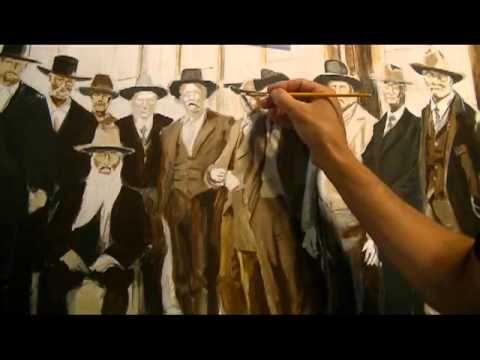 Brian Barkey Historical Painting Day Six