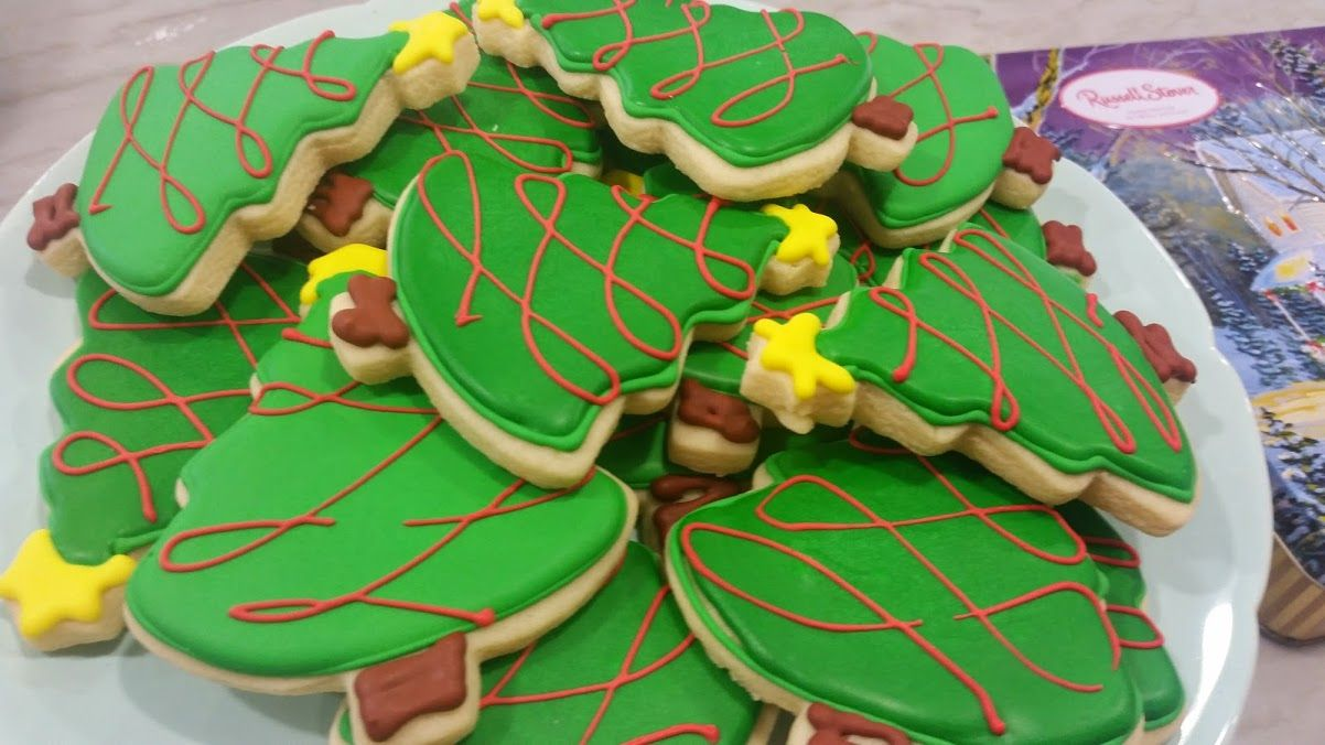 Can't have too many Christmas Tree Cookies