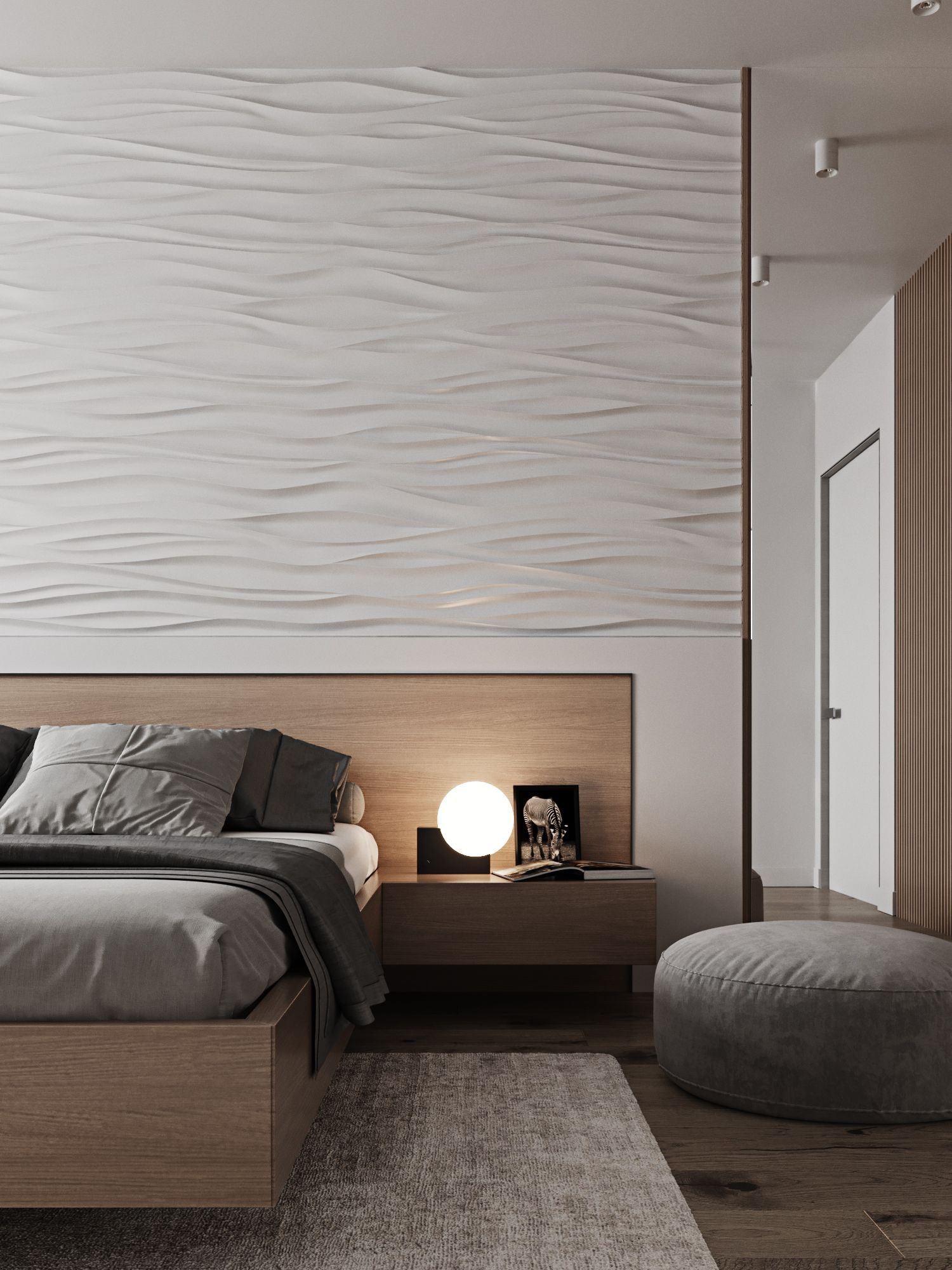 Turn Your Wall Into A Feature With Our 3d Plaster Wall Panels Made From 100 Gypsum Plaster The Panels Are Available In 2020 Wall Panels 3d Wall Panels Plaster Walls
