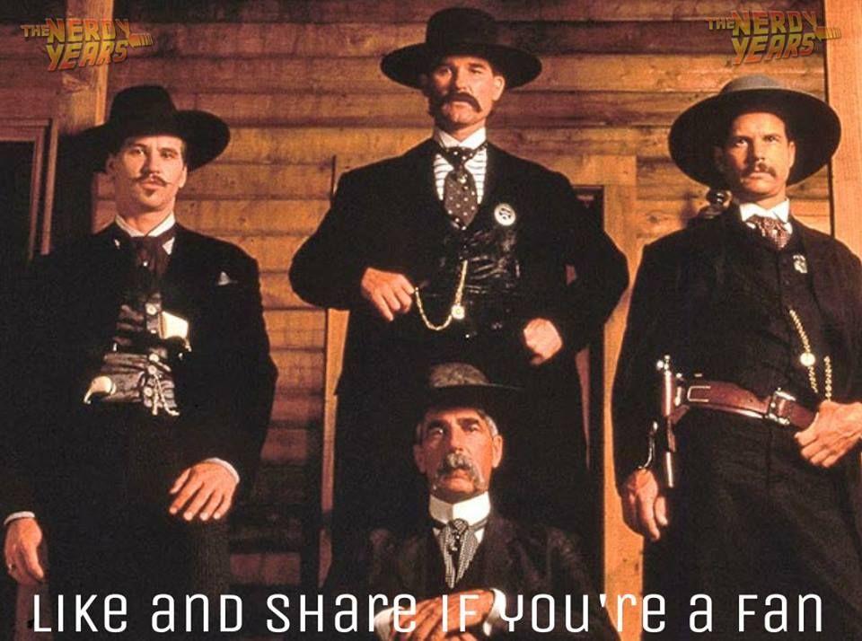 101 Facebook Tombstone Movie Tombstone Movie Quotes Tombstone