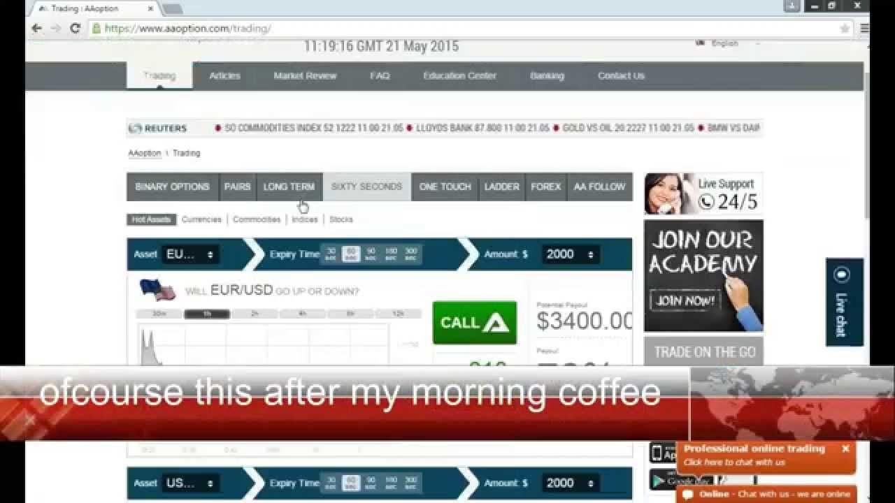 Binary options news trading ideas betting nfl week 11