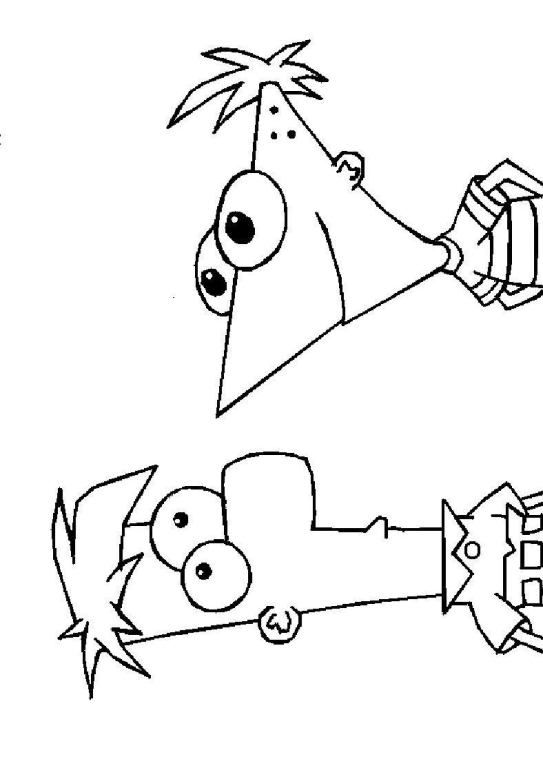coloring page Phineas and ferb - Phineas and ferb | Phineas Ferb ...