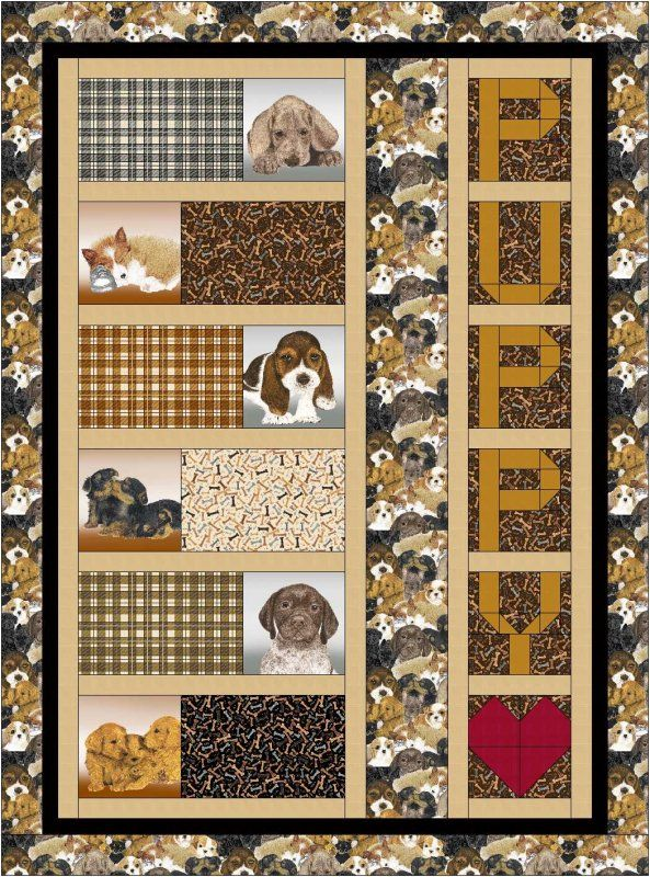 Free Patterns Quilt Ideas For Logan Panel Quilts