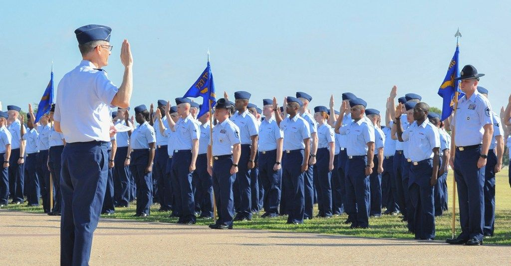 Air Force Graduation at Lackland AFB (2019 Schedule