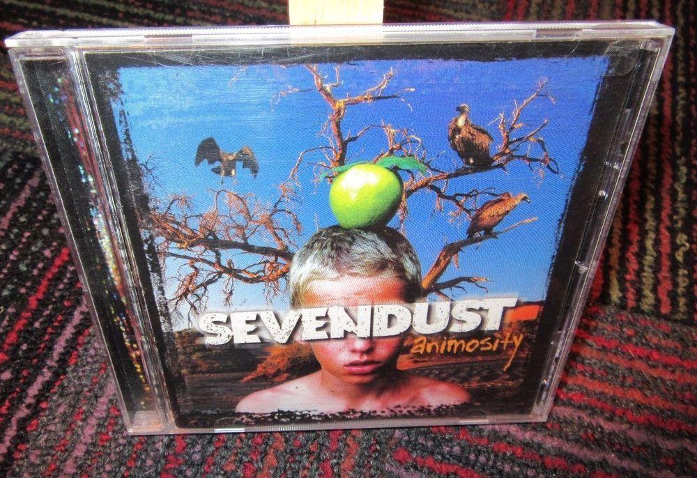 Sevendust: animosity music cd, clean version, 13 great