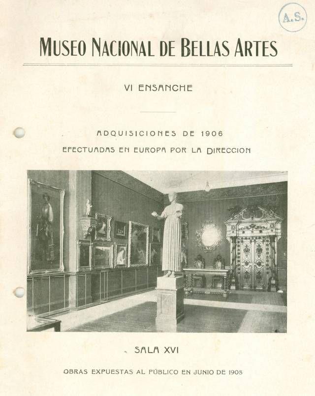 Museo Nacionl Bellas Artes Argentina. 1908