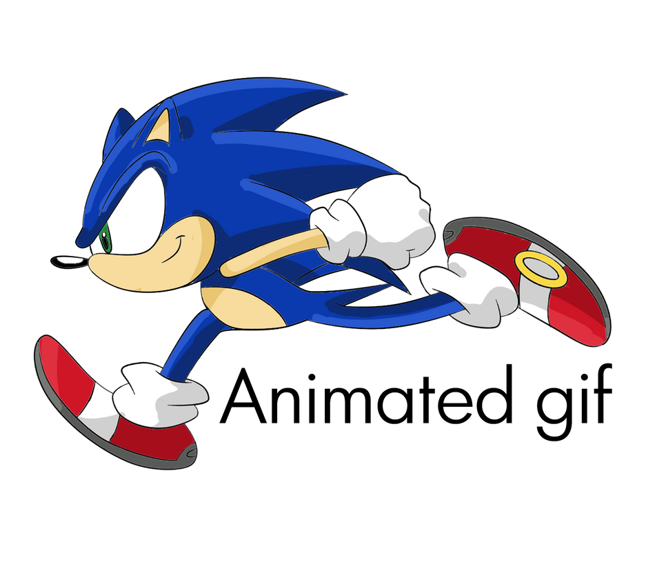 Running Sonic By Arkyz On Deviantart Sonic Sonic The Hedgehog Running I Love You Animation